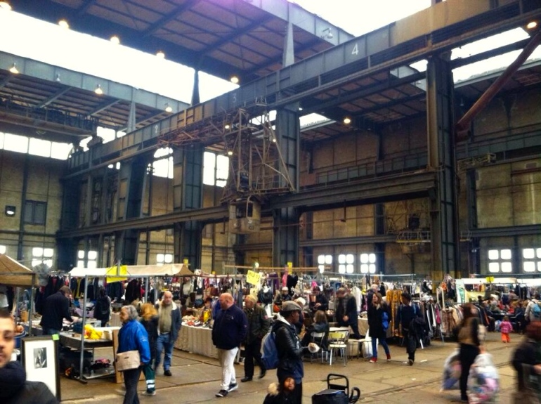 Dig for treasure at the IJ-Hallen flea markets.