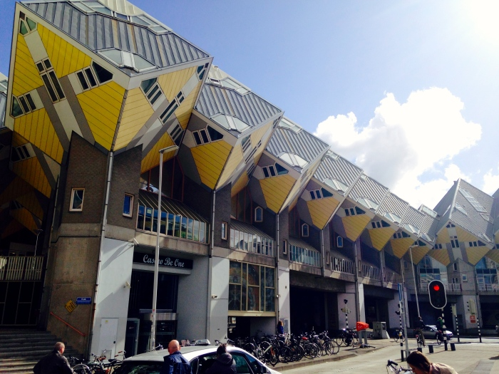 The Cube Houses in Rotterdam. Just one example of the city's innovative architecture.