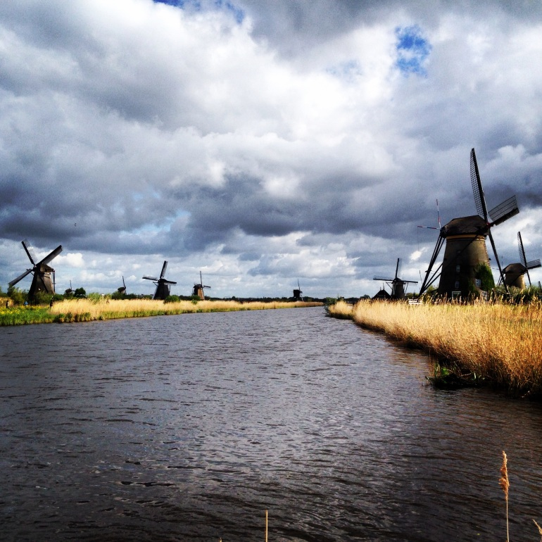 UNESCO World Heritage Site - The Kinderdijk. As Dutch as it comes