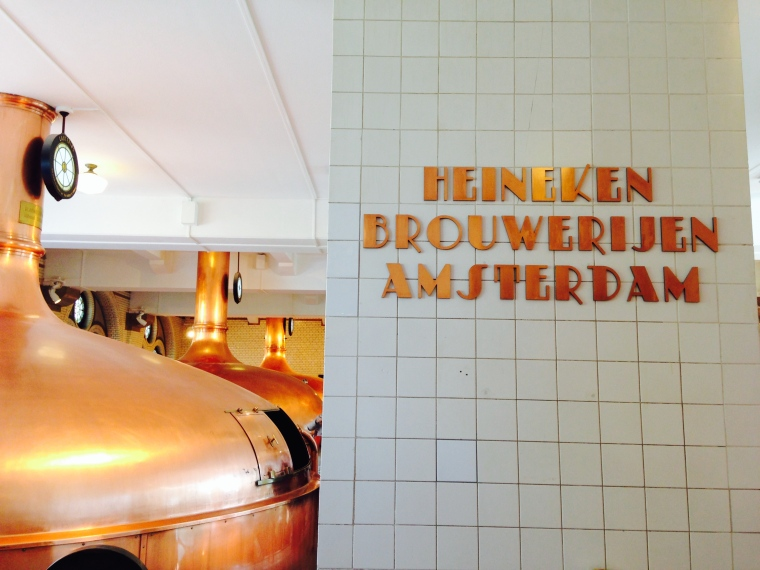 Heineken Experience - see the old brewery as it once was.