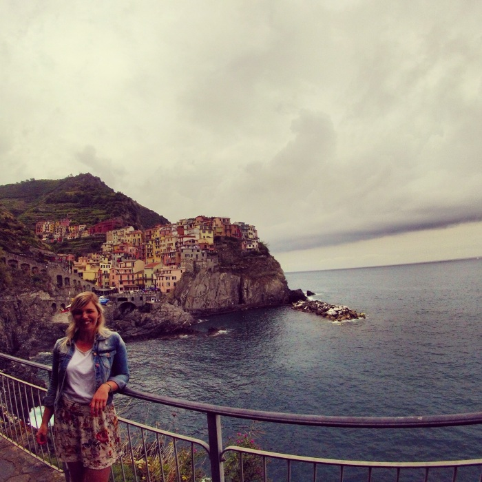 Cloudy days in Manarola