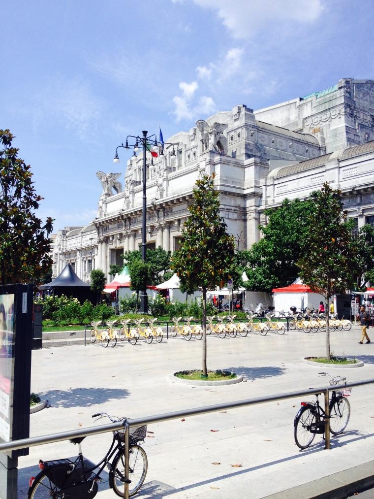 Milano Centrale Stazione.
