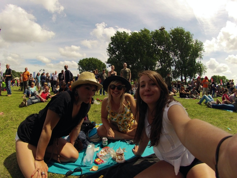 Selfies at Parkpop.