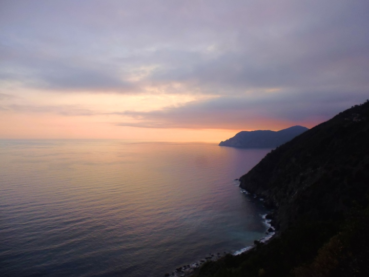Sunsets over The Heart Of Cinque Terre.