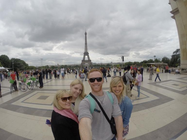 Views from Palais de Chaillot.
