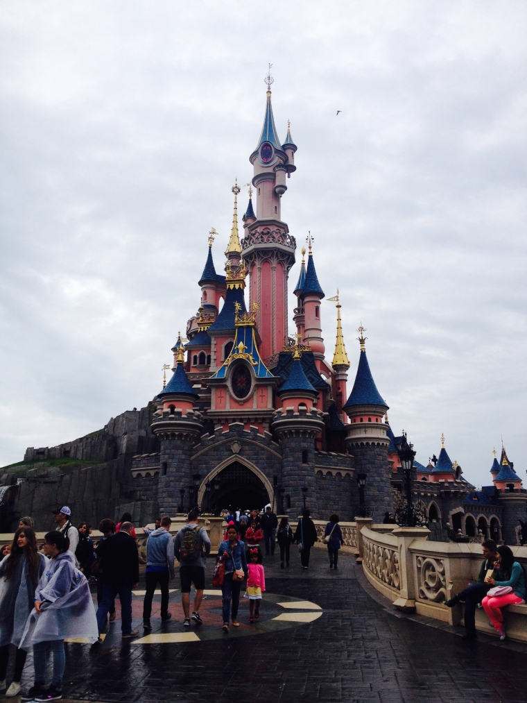 The iconic Sleeping Beauty's Castle. Absolutely brilliant.