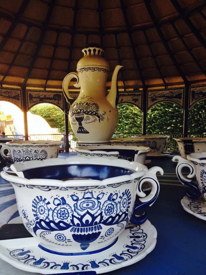 Teacups - in Delftware blue of course!