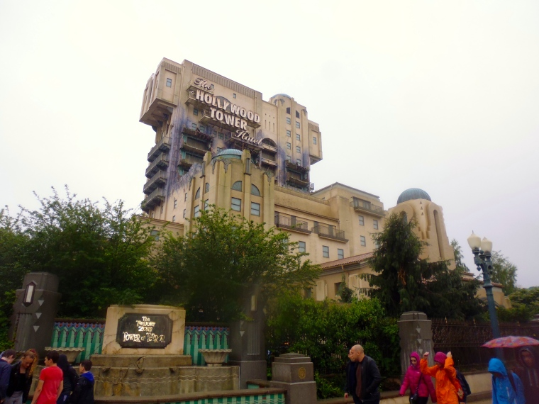 The Twilight Zone Tower of Terror. Scariest elevator I've ever rode!