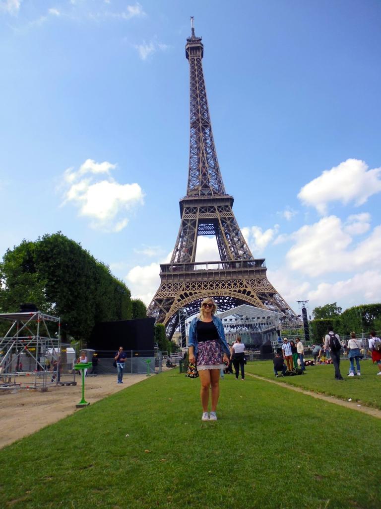 Sunny days in Paris.