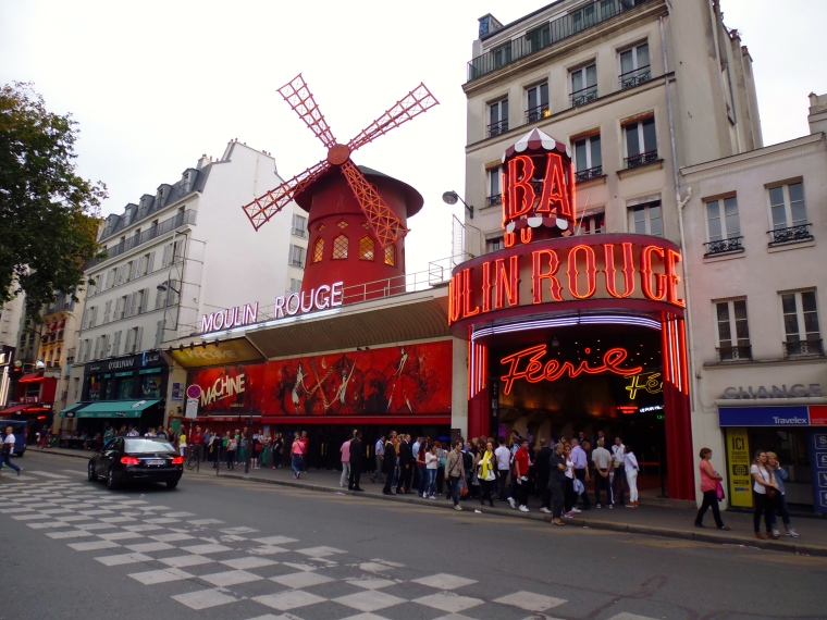 The Moulin Rouge!