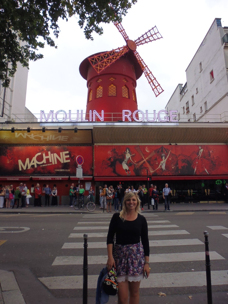 The Moulin Rouge. Such a small place with a notoriously famous reputation.