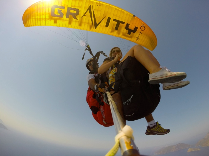 Gravity Tandem Paragliding http://www.flygravity.com  My pick of paragliding companies, very good!