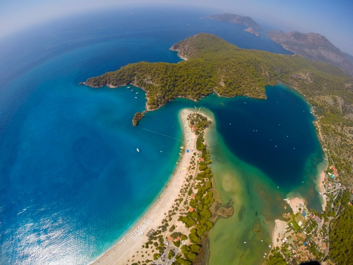 Ölüdeniz and the Blue Lagoon.