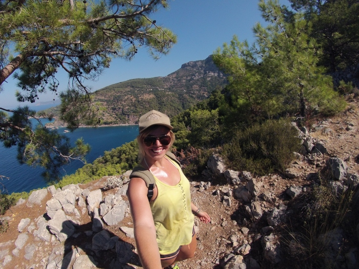 Obligatory selfie with the best view in Kabak Valley.