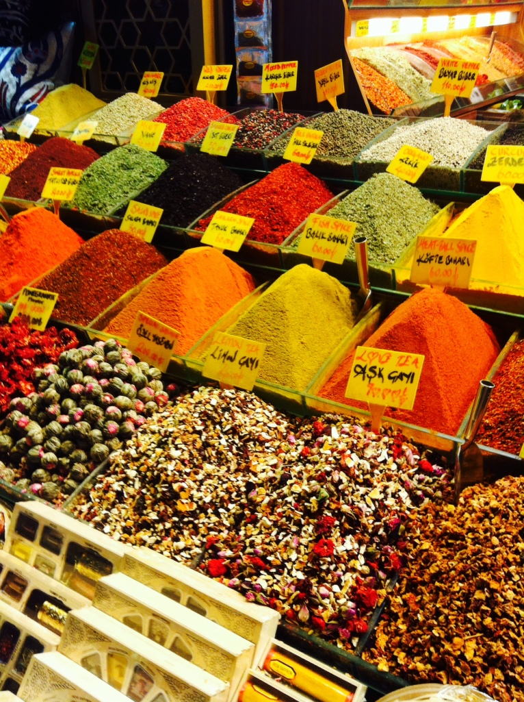 Colours galore at the Spice Bazaar