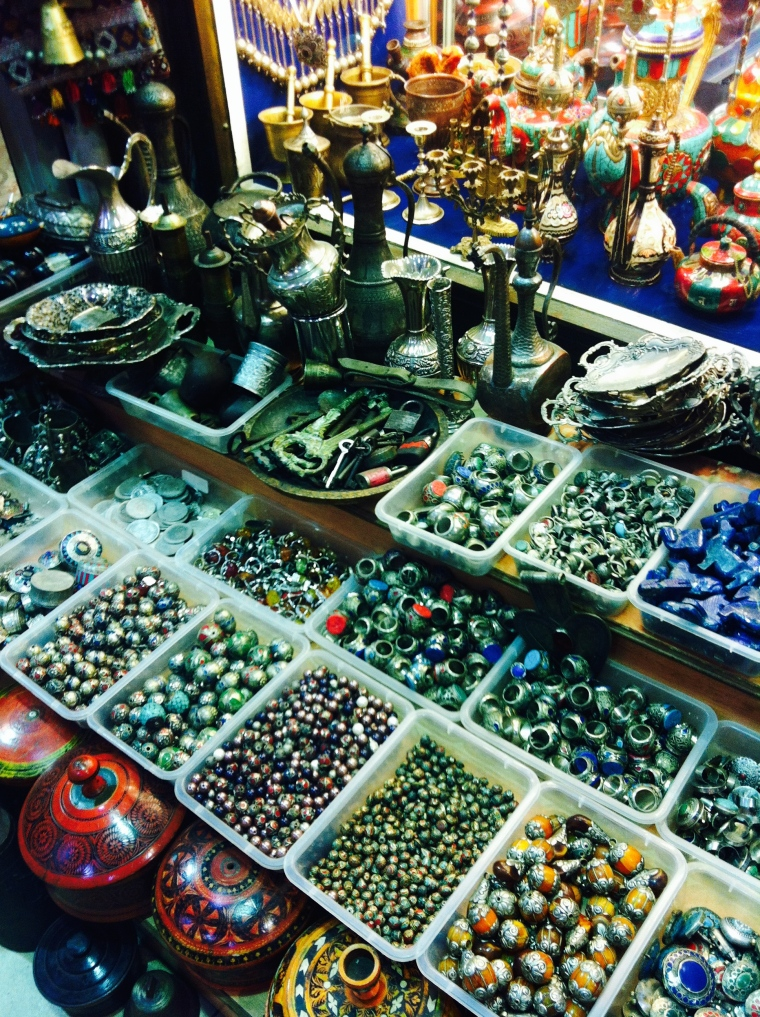 Stacks and stacks of jewellery to search through!