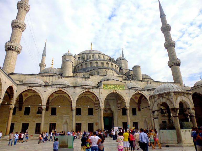 The Blue Mosque, so impressive!