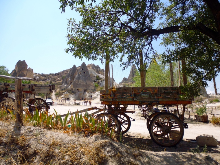 Theres a definite Western feel in Cappadocia