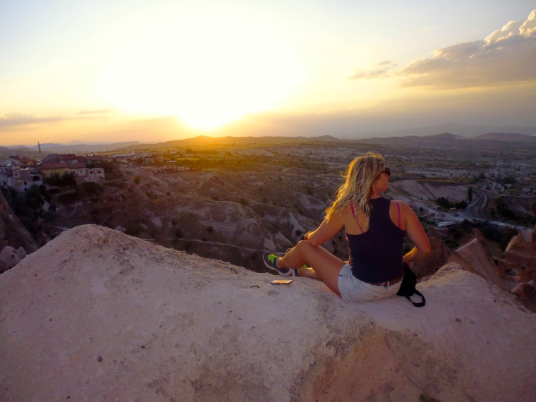 Sunsets in Cappadocia are top notch