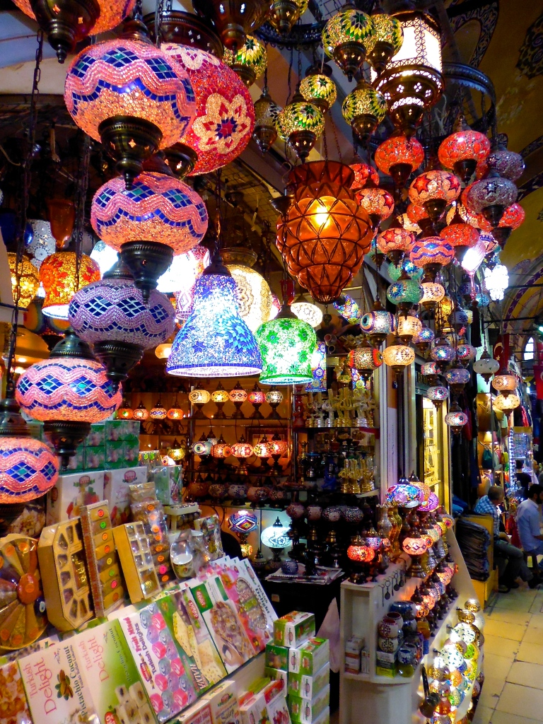 Became infatuated with these lamps! They sold them everywhere.