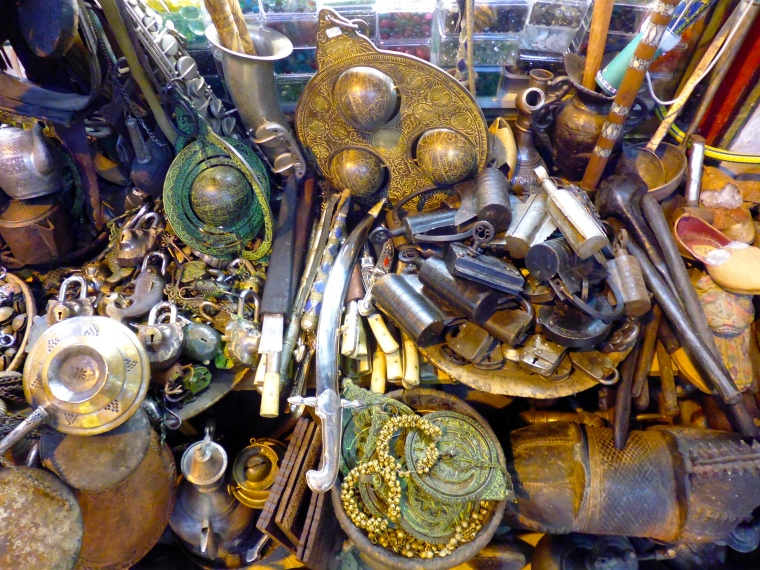 Antique goodies found in the Grand Bazaar