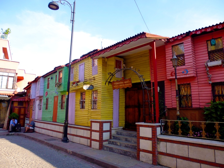 Colourful streets of Istanbul