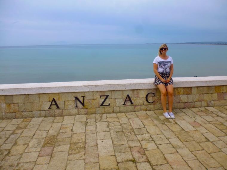 Anzac Cove. So beautiful, yet so saddening.