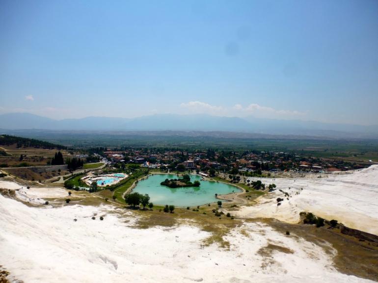 Snow white terraces of Pamukkale