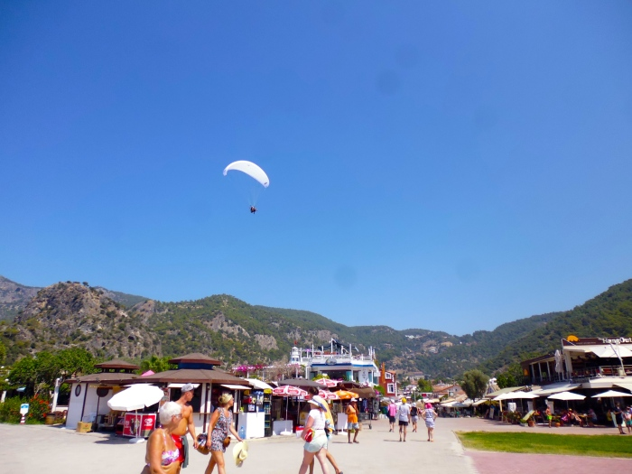The landing strip - AKA the main walkway of Ölüdeniz