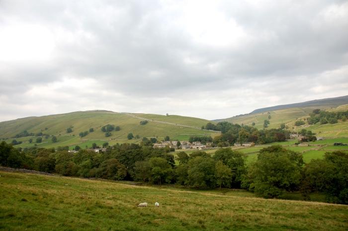 Beautiful English countryside.