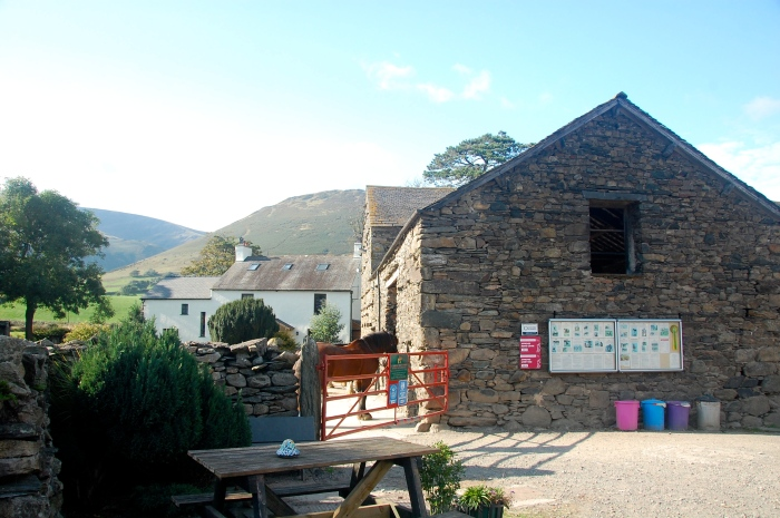 The Cumbrian Heavy Horse stables