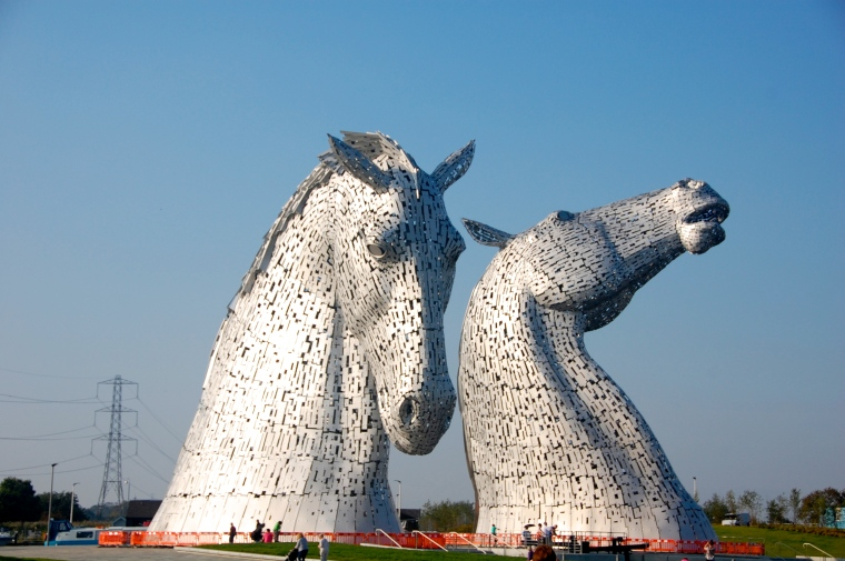 The incredible Kelpies