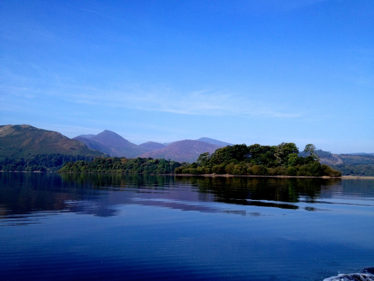 The picturesque Derwentwater