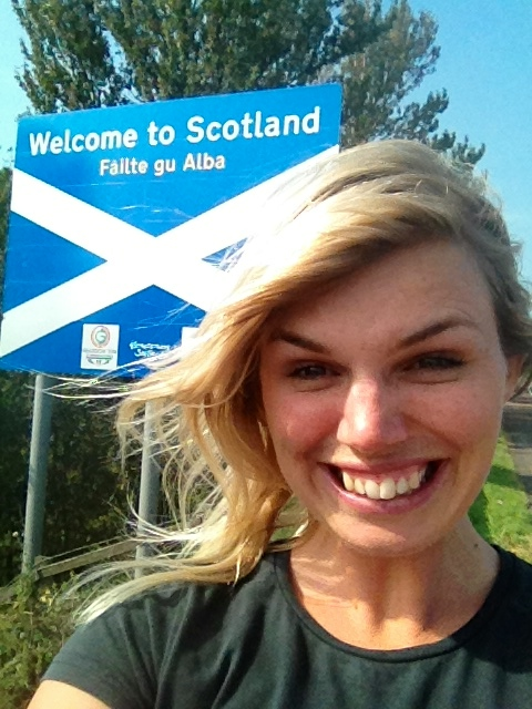 We made it to Scotland!