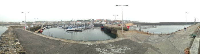 Anstruther's quiet harbour