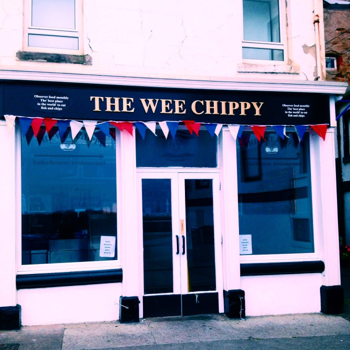 Another chippie shop in Anstruther. Too adorable!
