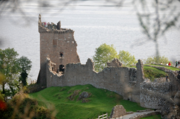 Urquhart Castle from afar