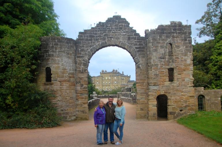 The entrance gates to the Culzean