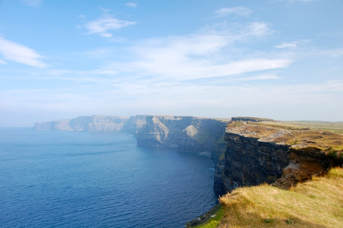 The Cliffs of Moher - absolutely breathtaking