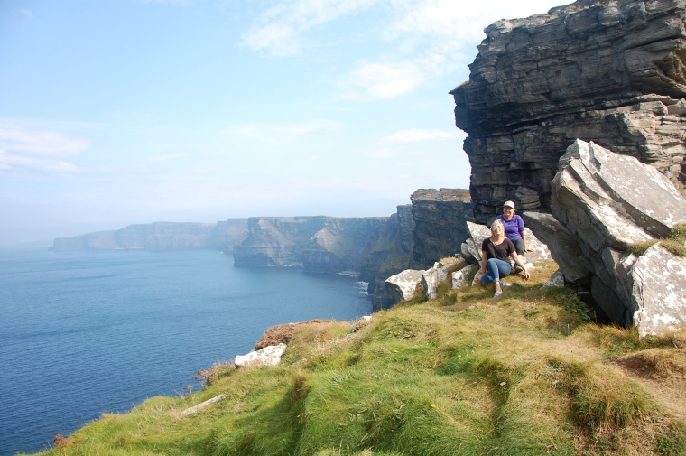 I now understand why the Irish are so proud of these phenomenal cliffs. So. Damn. Amazing.