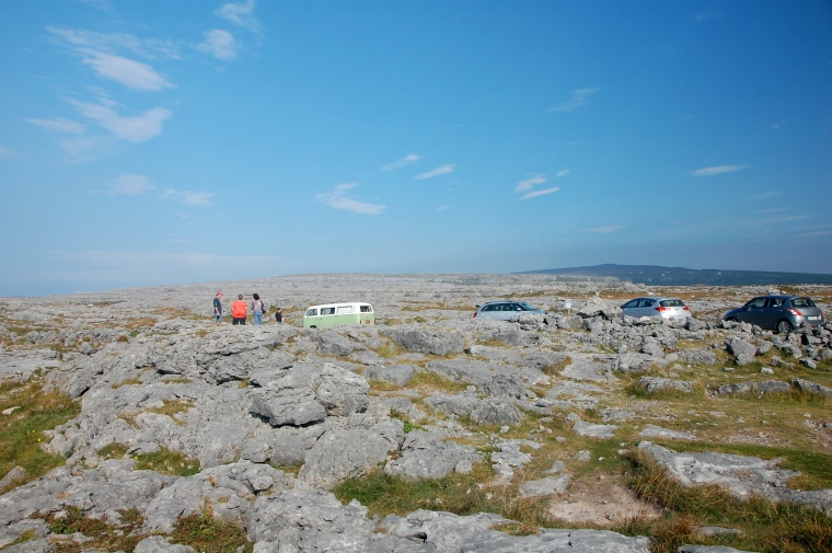 The barren Burren. One of six National Parks in Ireland - my guess its the most unusual!