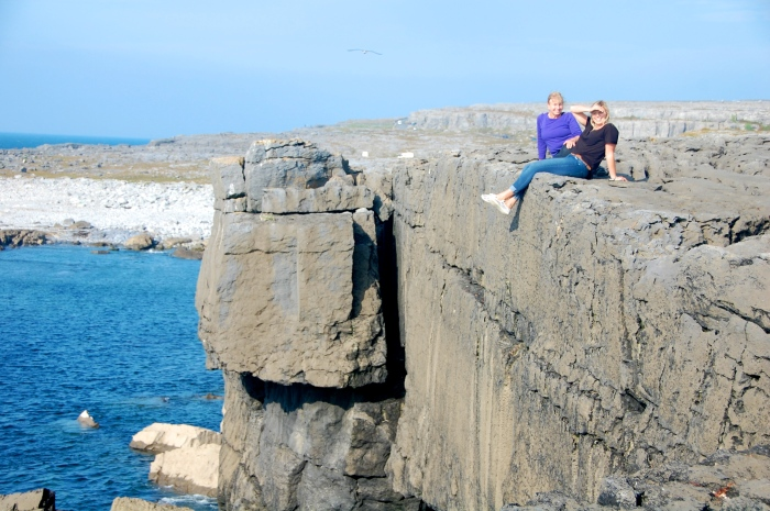 Hanging out in the Burren