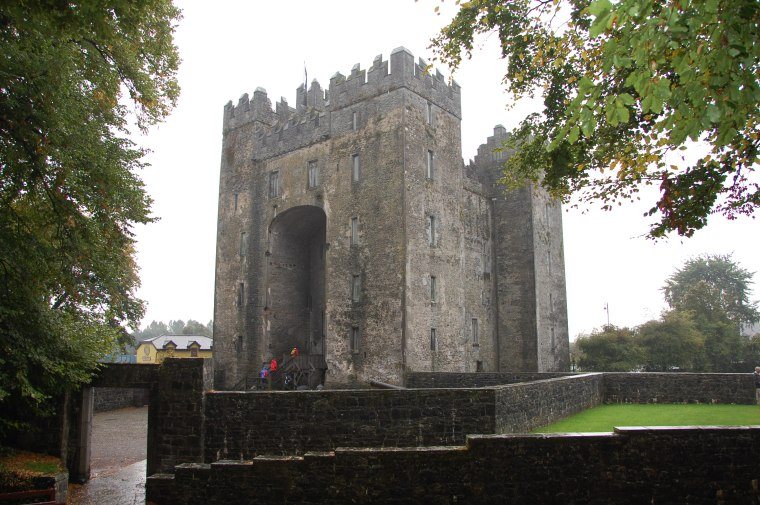 Bunratty Castle - in Irish it means 'the bottom of the river'