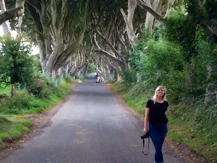 The Dark Hedges were featured in Game of Thrones, when Arya Stark escapes the Kings Landing with Yoren and others.