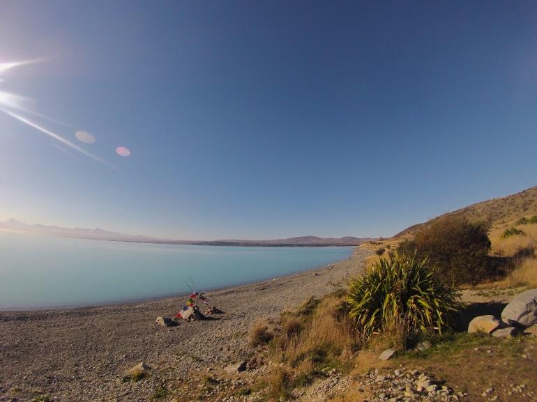 A quick stop at Lake Pukaki