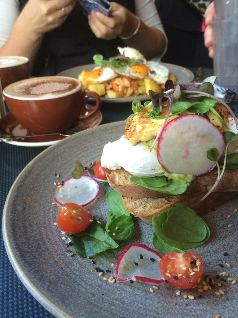 Breakfast at Vudu Cafe - a must in Queenstown.