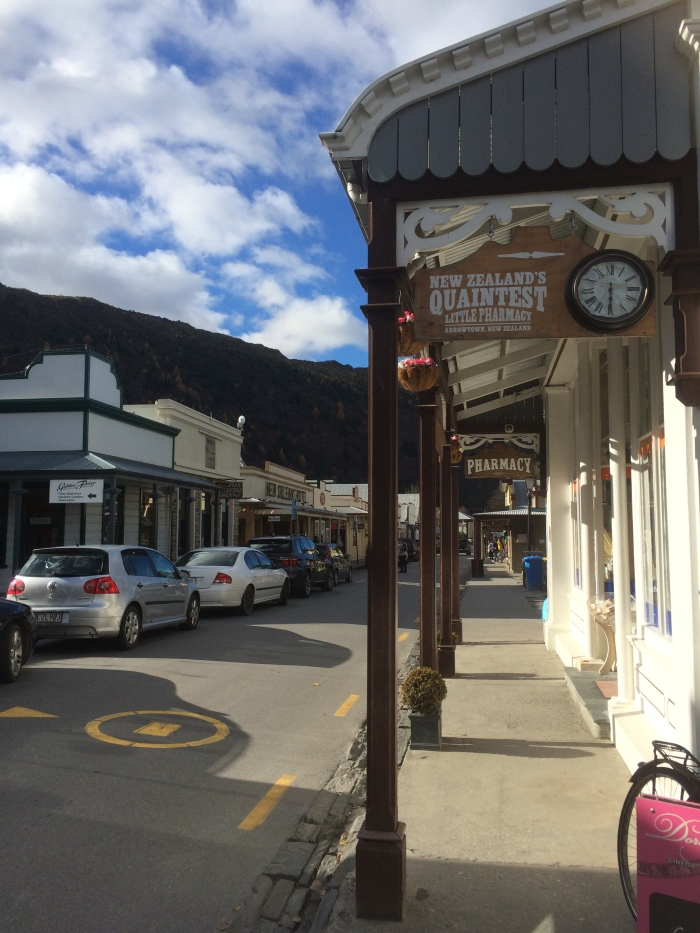 The western style streets take you back to times of the gold mining days