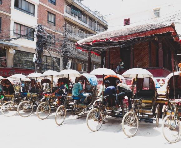 Exploring Old Kathmandu